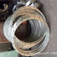 温州洪圆厂家直销大口径法兰 不锈钢管件/不锈钢薄法兰
